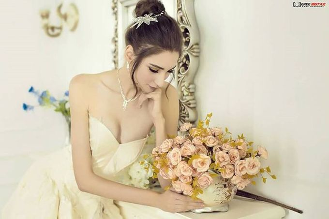 Victorian Bridal Pre Wedding Shoot by Beautistylebykoreen - 004