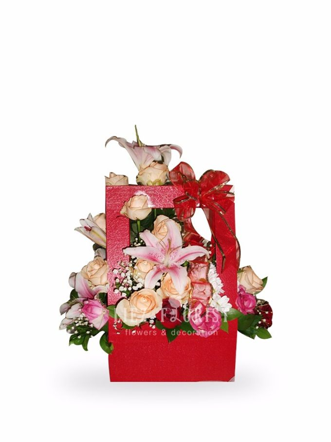 Flower Box by Liez Florist & Decoration - 001