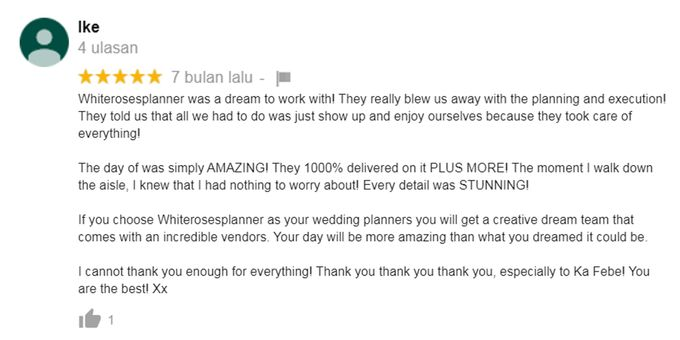 Client Review by White Roses Planner - 017