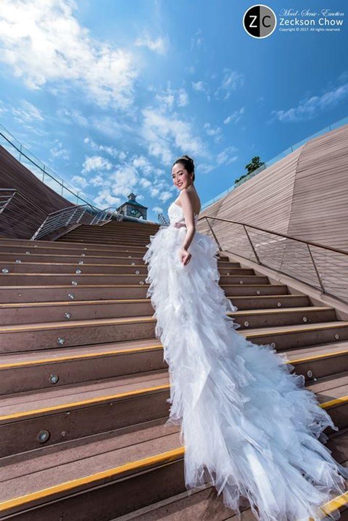 Natural Korean Bridal Look by Beautistylebykoreen - 007
