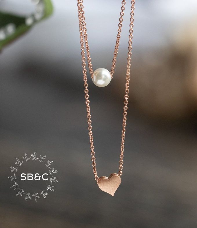 Flower Girl Necklace by Sixpence Boutique & Co - 005