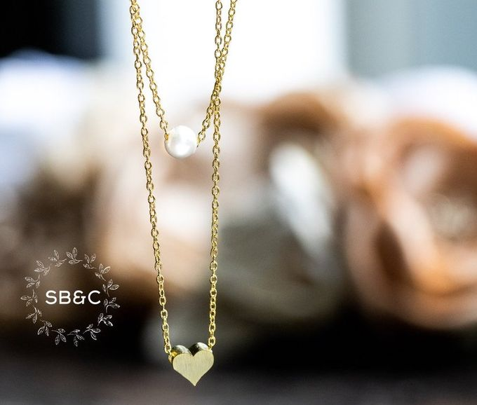Flower Girl Necklace by Sixpence Boutique & Co - 006