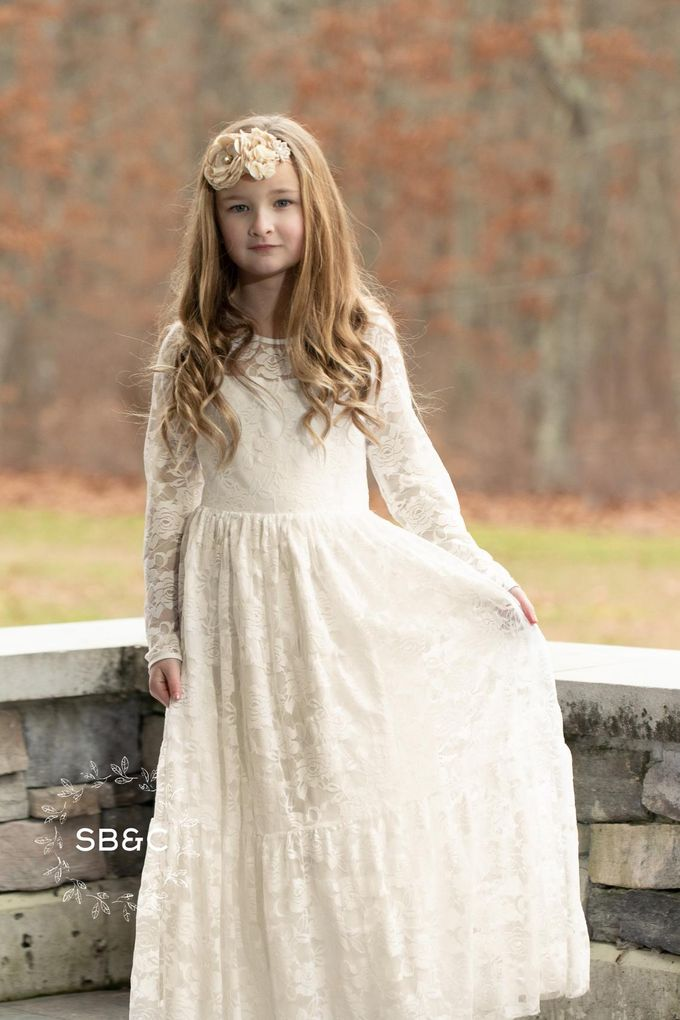 Flower Girl Dress by Sixpence Boutique & Co - 046