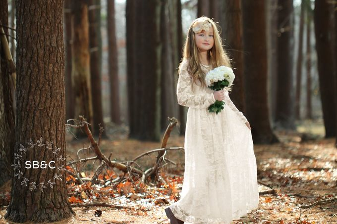 Flower Girl Dress by Sixpence Boutique & Co - 047