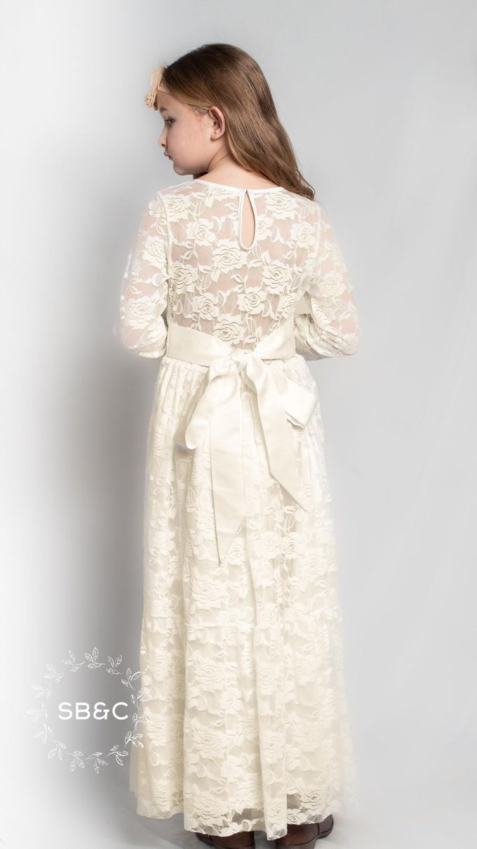 Flower Girl Dress by Sixpence Boutique & Co - 048