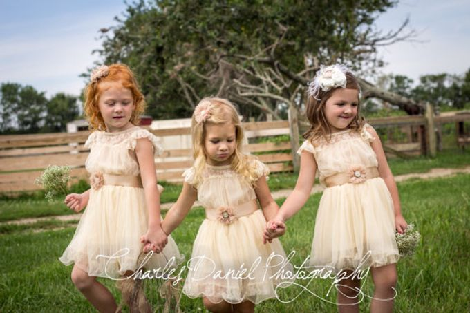 D Liles Collection Flower girl dresses by D. Liles Collection - 001