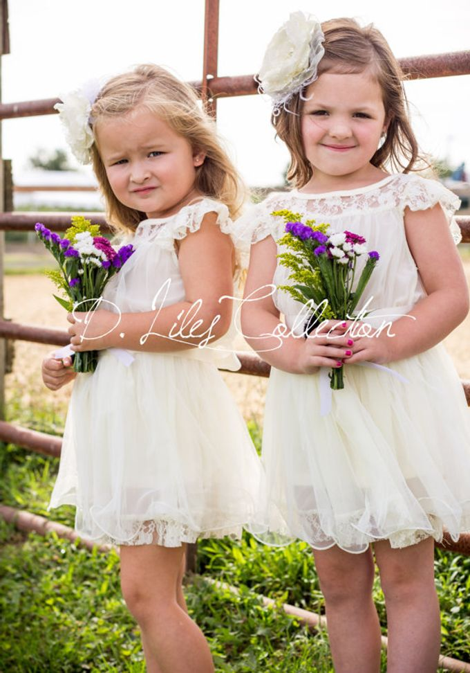 D Liles Collection Flower girl dresses by D. Liles Collection - 022