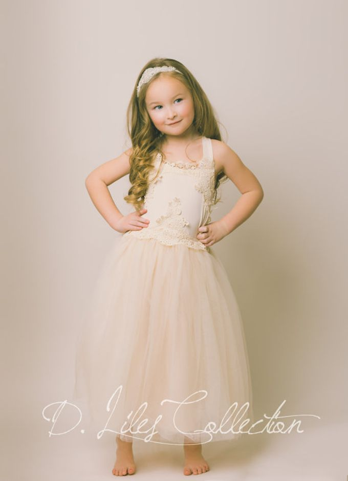 D Liles Collection Flower girl dresses by D. Liles Collection - 021