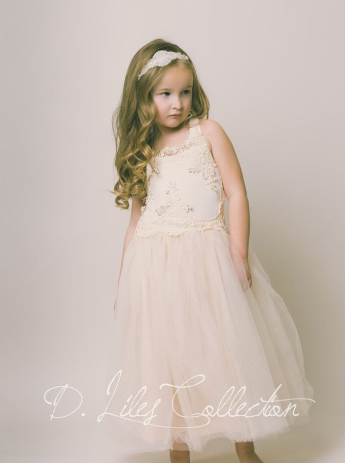 D Liles Collection Flower girl dresses by D. Liles Collection - 020