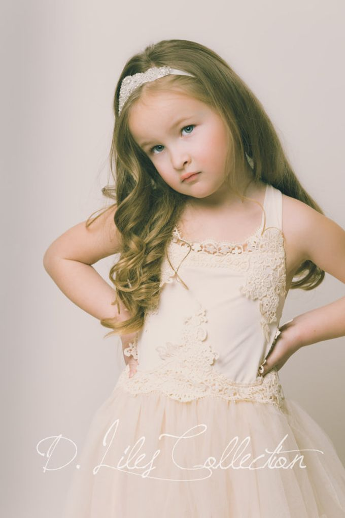 D Liles Collection Flower girl dresses by D. Liles Collection - 019