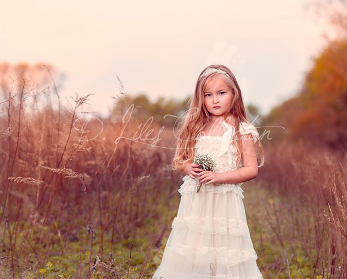 D Liles Collection Flower girl dresses by D. Liles Collection - 014