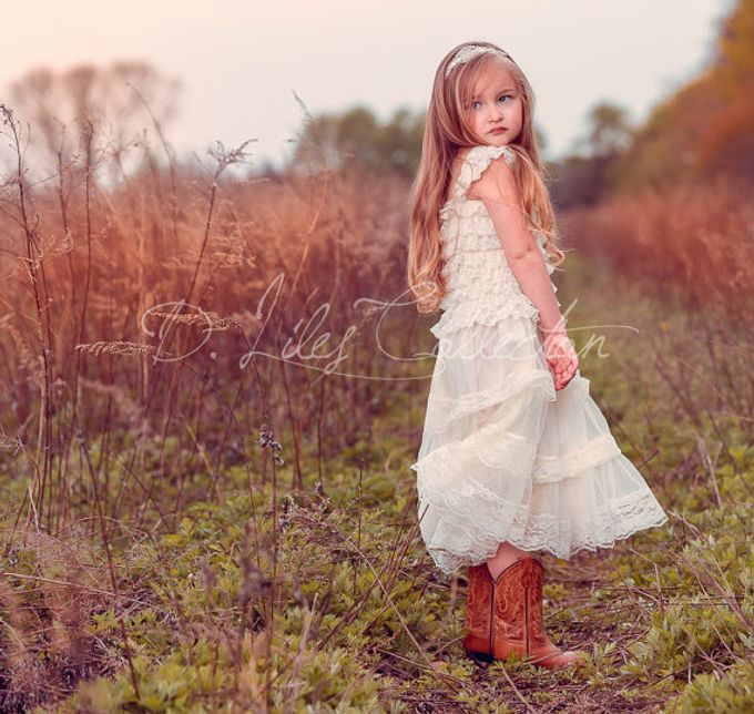 D Liles Collection Flower girl dresses by D. Liles Collection - 016