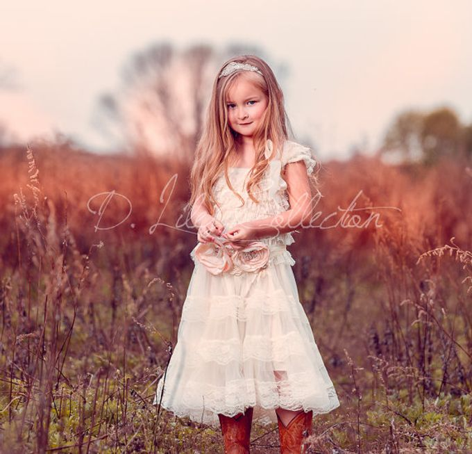 D Liles Collection Flower girl dresses by D. Liles Collection - 017