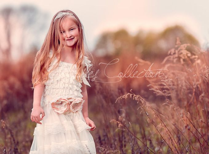 D Liles Collection Flower girl dresses by D. Liles Collection - 013