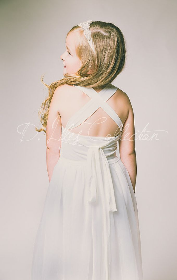 D Liles Collection Flower girl dresses by D. Liles Collection - 018