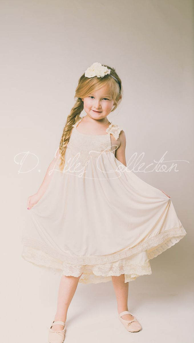 D Liles Collection Flower girl dresses by D. Liles Collection - 009