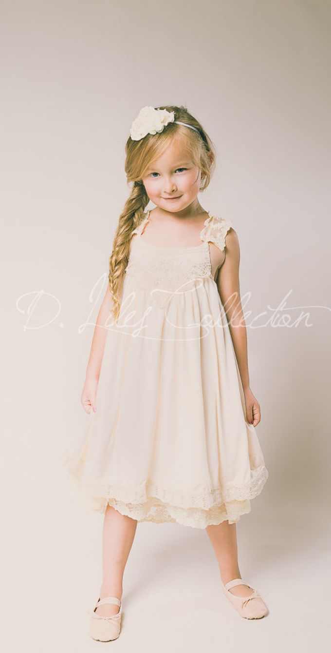 D Liles Collection Flower girl dresses by D. Liles Collection - 011