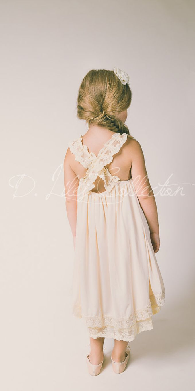 D Liles Collection Flower girl dresses by D. Liles Collection - 010