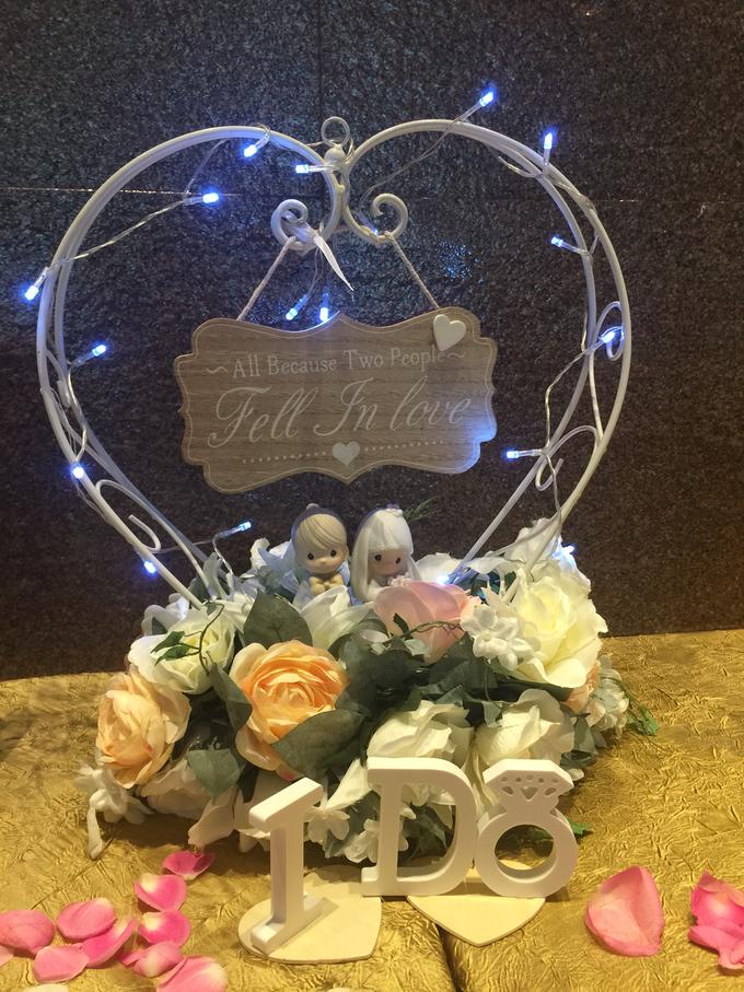 A romantic wedding by ilmare Wedding - 011