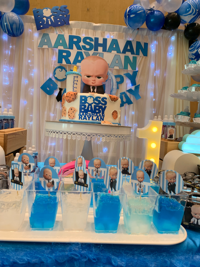 Baby boss decor setup by ilmare Wedding - 001