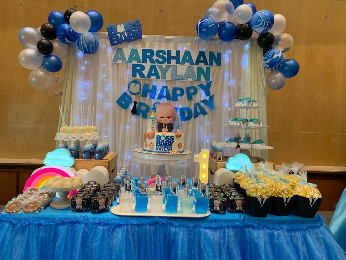 Baby boss decor setup by ilmare Wedding - 002
