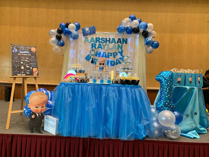 Baby boss decor setup by ilmare Wedding - 003