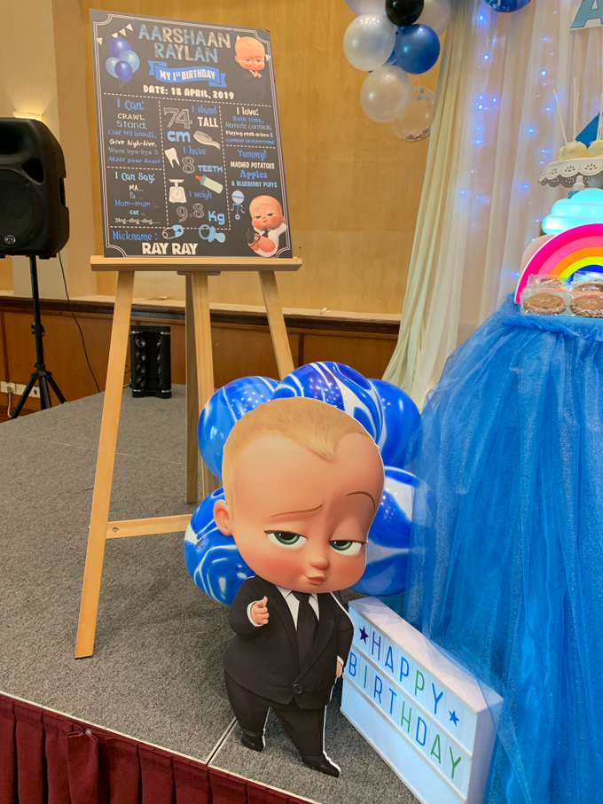 Baby boss decor setup by ilmare Wedding - 007
