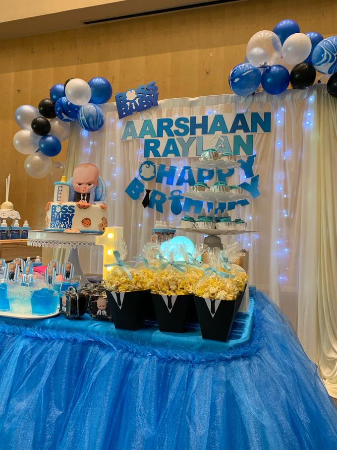 Baby boss decor setup by ilmare Wedding - 009