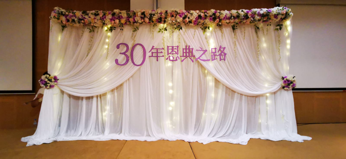 Purple theme chinese church wedding by ilmare Wedding - 001