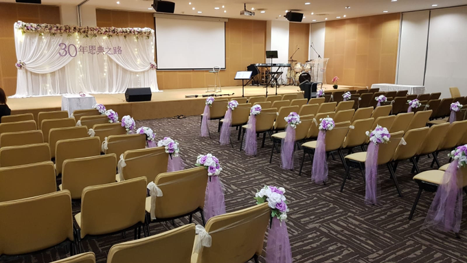 Purple theme chinese church wedding by ilmare Wedding - 002