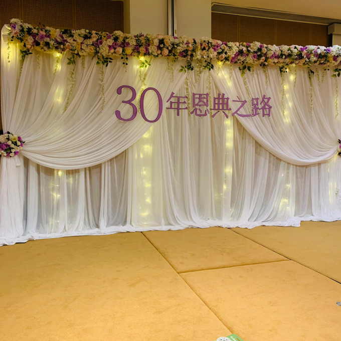 Purple theme chinese church wedding by ilmare Wedding - 004