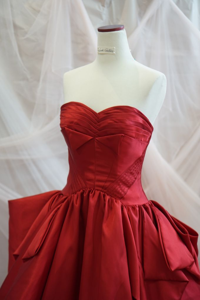 Red Big Ballgown by iLook ( Makeup & Couture ) - 002