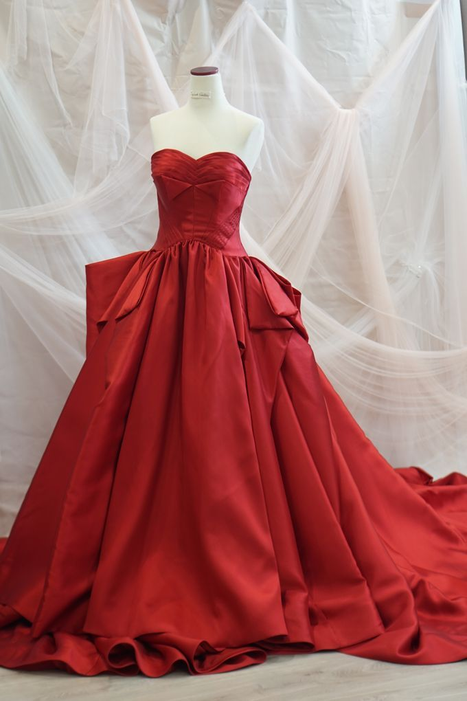 Red Big Ballgown by iLook ( Makeup & Couture ) - 003