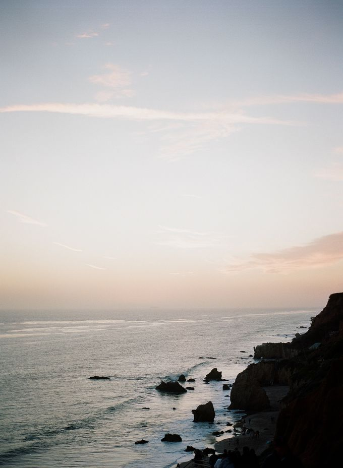 Sunset Elopement Inspiration on Malibu Coast by Honour and Blessing Events - 021