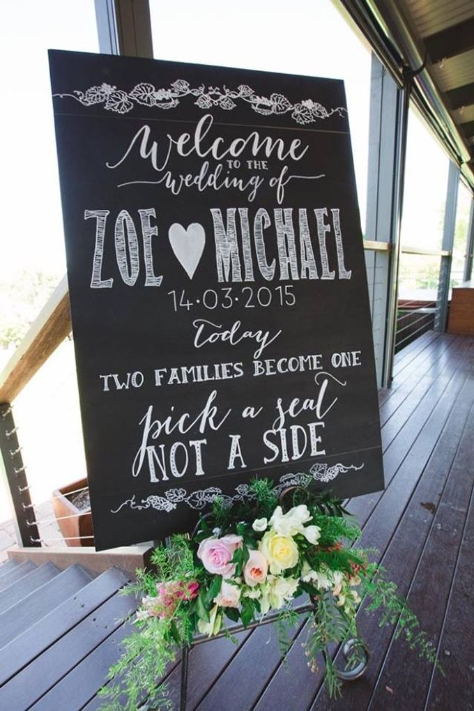 Welcome Sign and Seating Chart by Little Paper Lane - 002