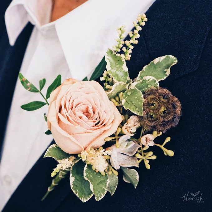 Boutonnières & Corsages by The Bloomish Eden - 006