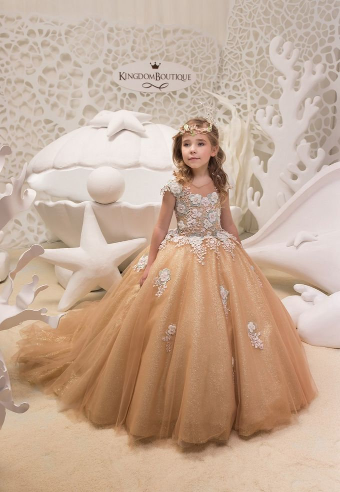 Flower Girl Dresses By Kingdom Boutique