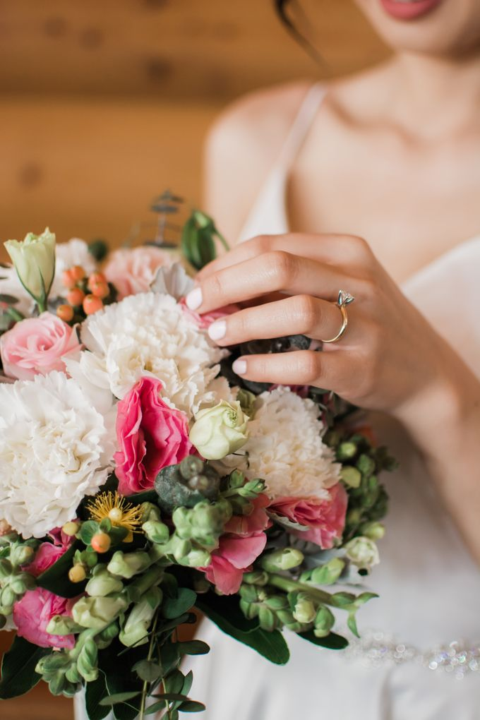 Modern & Minimalist Intimate Wedding Destination - Baguio City by Uncomplicated Weddings & Events - 012