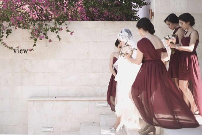Jenifer Patricia wedding by Lademoiselle Bridesmaids - 005