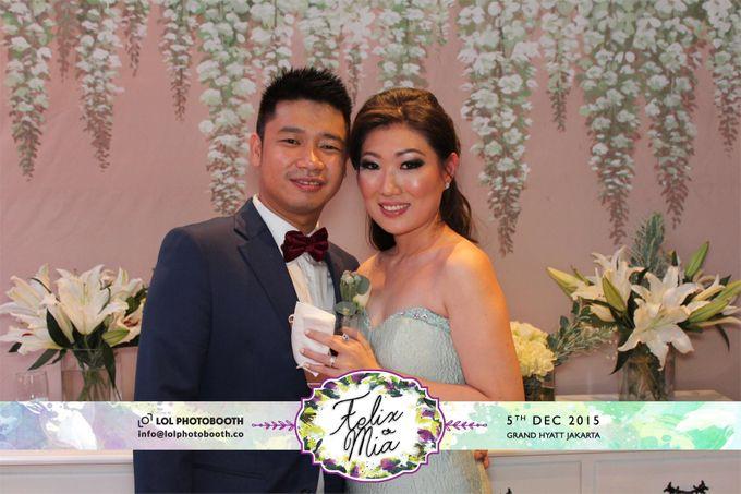 Wedding of Felix & Mia by lolphotobooth.co - 006