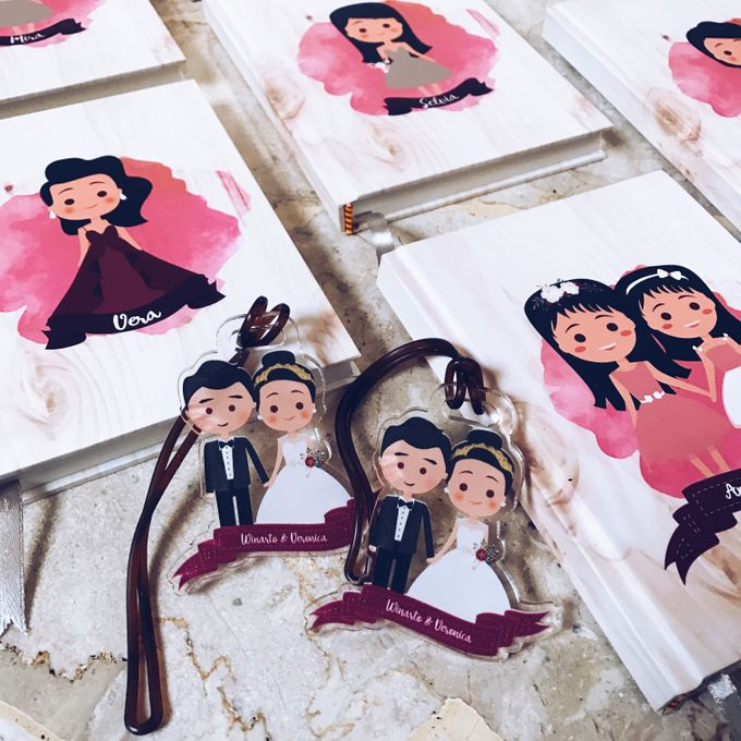 Veronica and Winarto Wedding Favor by Molusca Project - 002