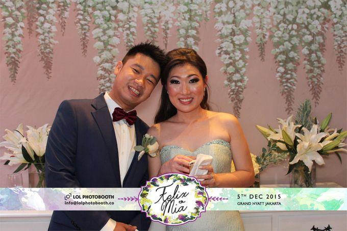 Wedding of Felix & Mia by lolphotobooth.co - 007