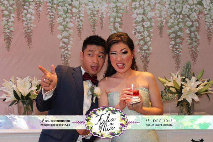 Wedding of Felix & Mia by lolphotobooth.co - 005