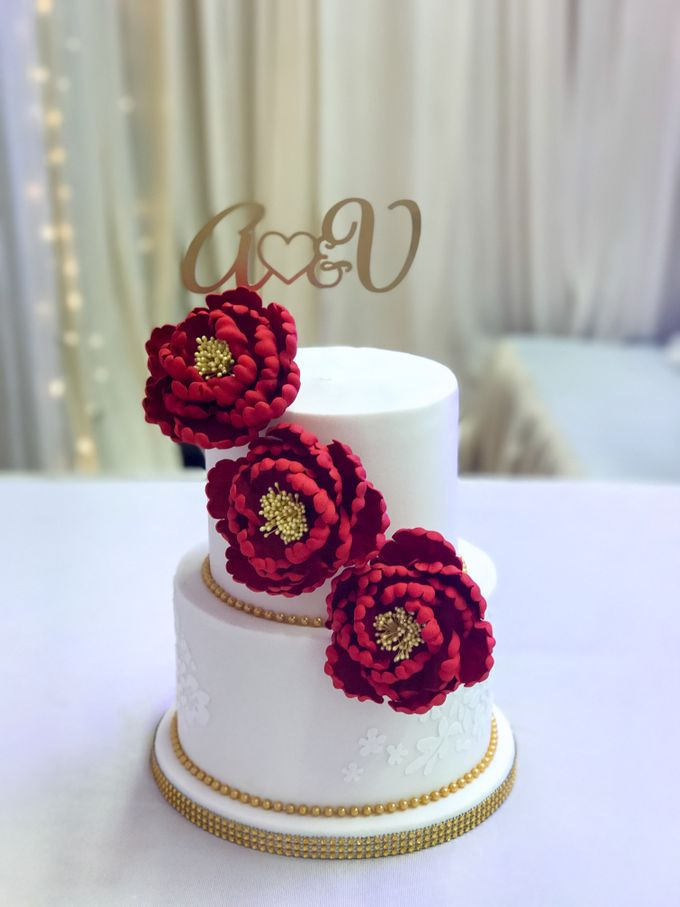 Wedding Cakes by The Quirky Taste - 017
