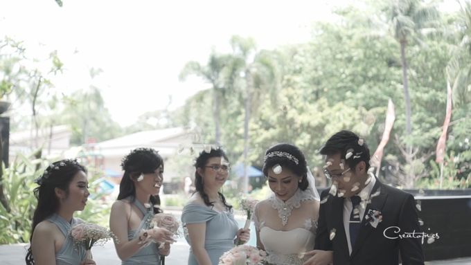 Discovery Hotel - Rey & Keshia Wedding Day by Impressions Wedding Organizer - 001