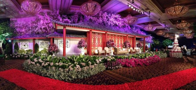 Wedding Reception of Budi & Felice by Lumens Indonesia - 001