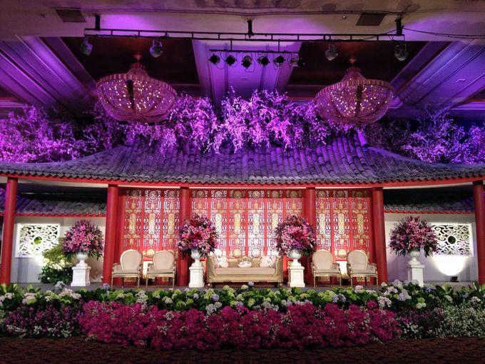 Wedding Reception of Budi & Felice by Lumens Indonesia - 003