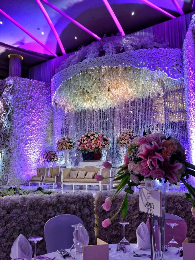 Wedding Reception of Jeffrey & Olivia by Lumens Indonesia - 001