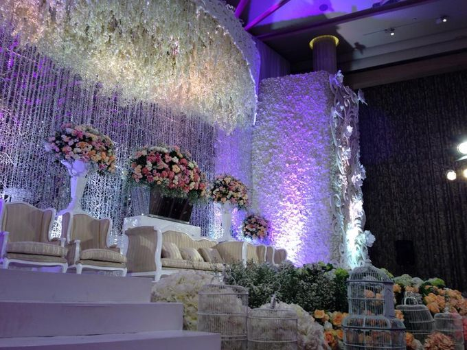 Wedding Reception of Jeffrey & Olivia by Lumens Indonesia - 003