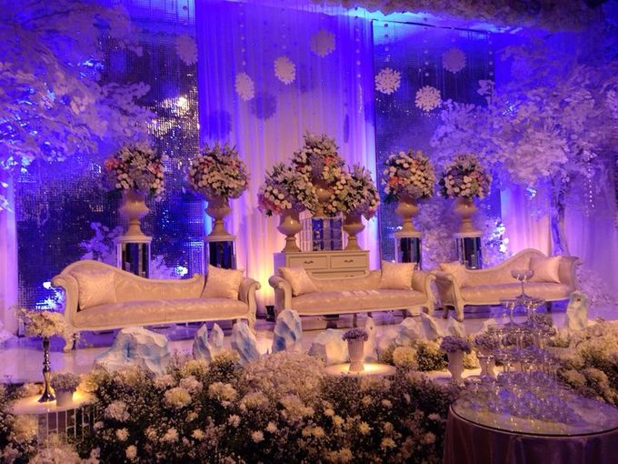 Wedding Reception of Bobby & Selvira by Lumens Indonesia - 003